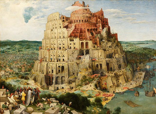 Pieter Bruegel the Elder-The_Tower_of_Babel